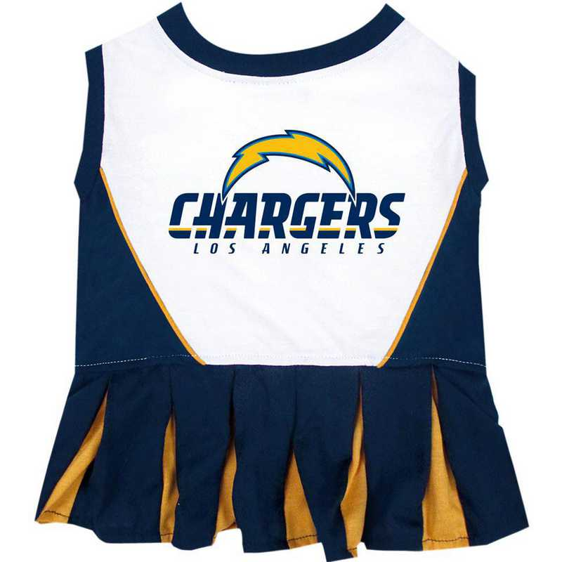 SDC-4007: LOS ANGELES CHARGERS Pet Cheerleader Outfit