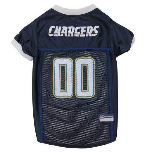 SDC-4006-XL: LOS ANGELES CHARGERS Mesh Pet Jersey