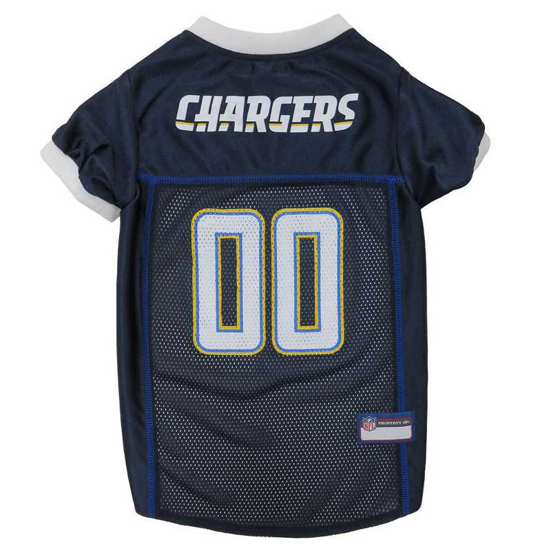 SDC-4006-XXL: LOS ANGELES CHARGERS Mesh Pet Jersey