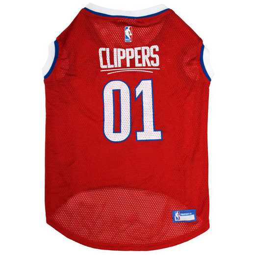 LAC-4047-XL: LA CLIPPERS BASKETBALL Mesh Pet Jersey