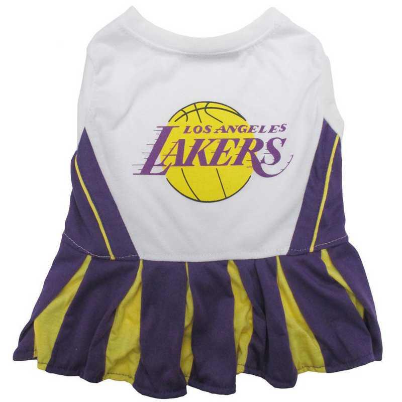 LA LAKERS Pet Cheerleader Outfit