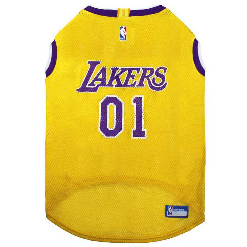 LAK-4047-XL: LA LAKERS BASKETBALL Mesh Pet Jersey