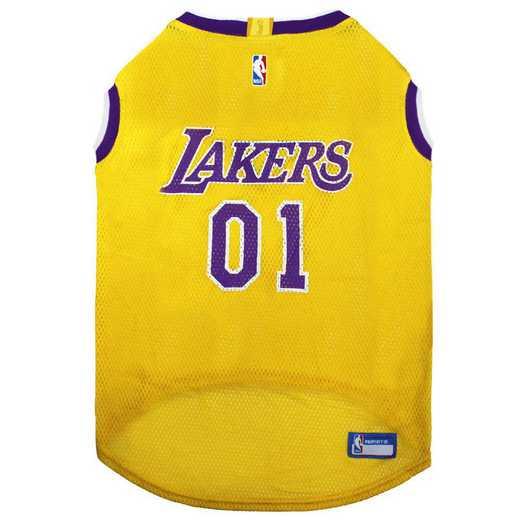 LA LAKERS Mesh Basketball Pet Jersey