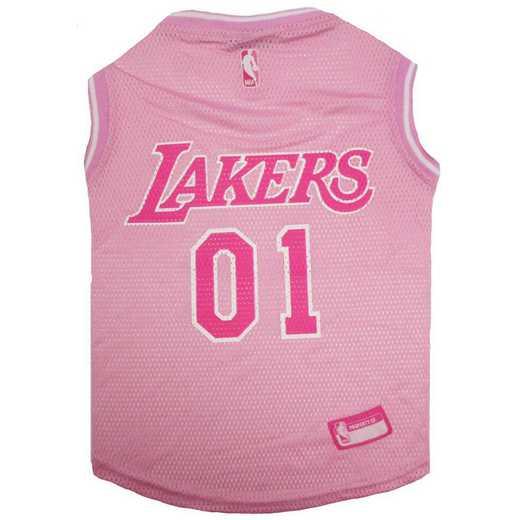 LA LAKERS Pink Pet Jersey