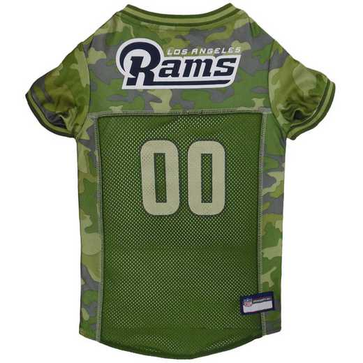 STL-4060-XL: LOS ANGELES RAMS CAMO JERSEY
