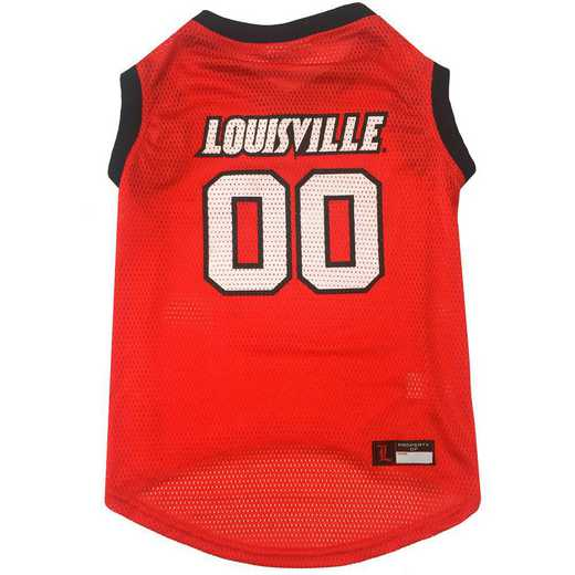LOUISVILLE Mesh Basketball Pet Jersey