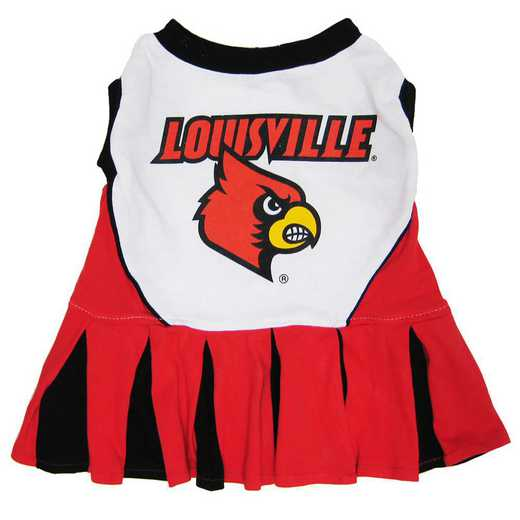 LOUISVILLE Pet Cheerleader Outfit