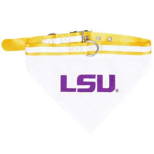 LSU Bandana Dog Collar