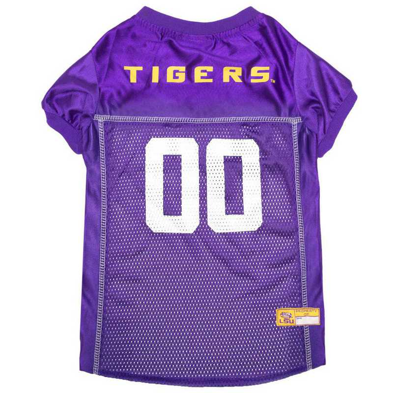 LSU-4006-XL: LSU Mesh Pet Jersey