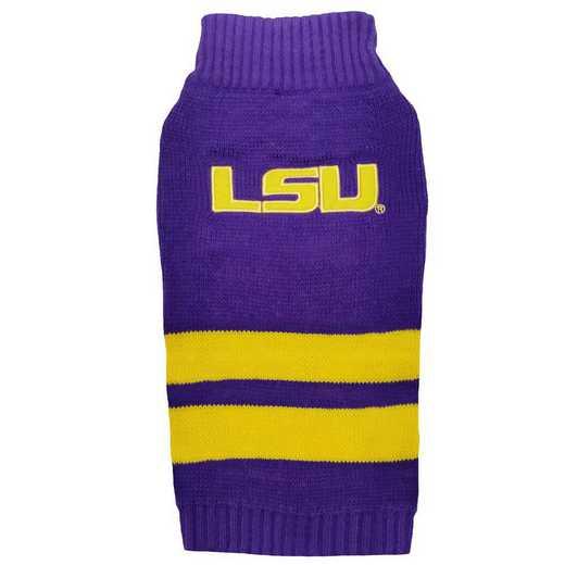 LSU Pet Turtleneck Sweater