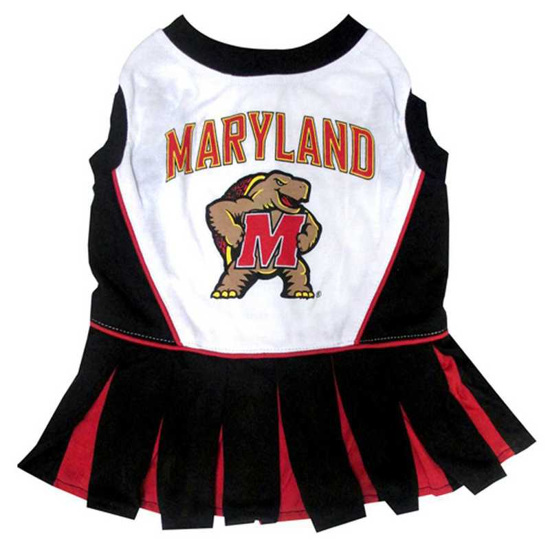MARYLAND Pet Cheerleader Outfit