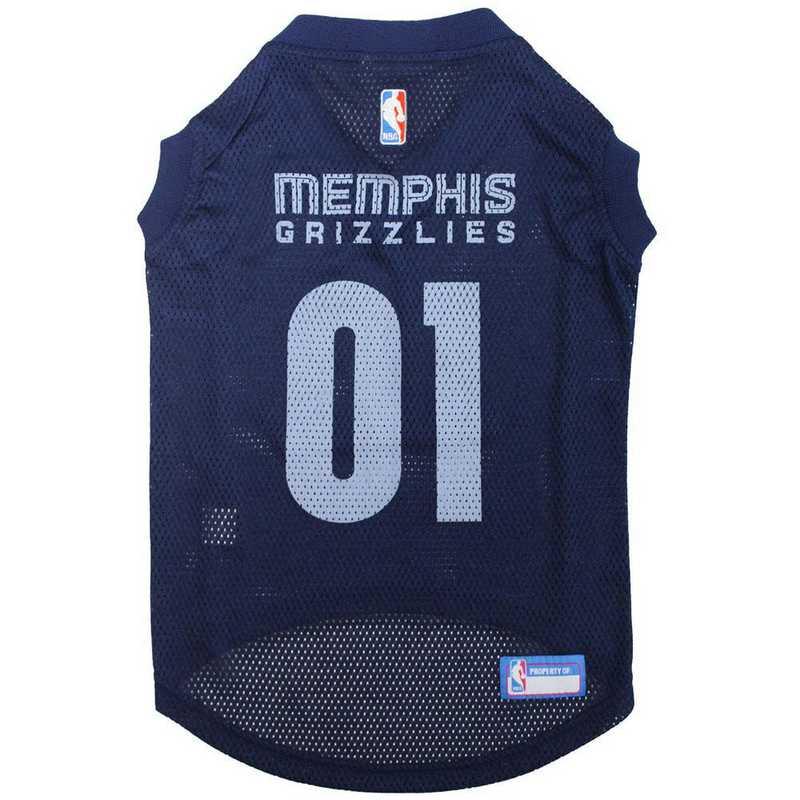 GRZ-4047-XL: MEMPHIS GRIZZLIES BASKETBALL Mesh Pet Jersey