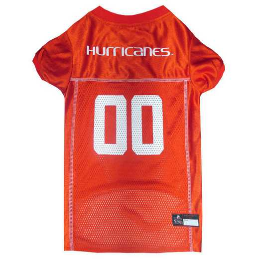 U OF MIAMI Mesh Pet Jersey