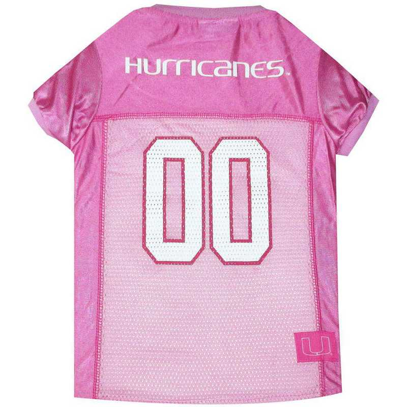 U OF MIAMI Pink Pet Jersey