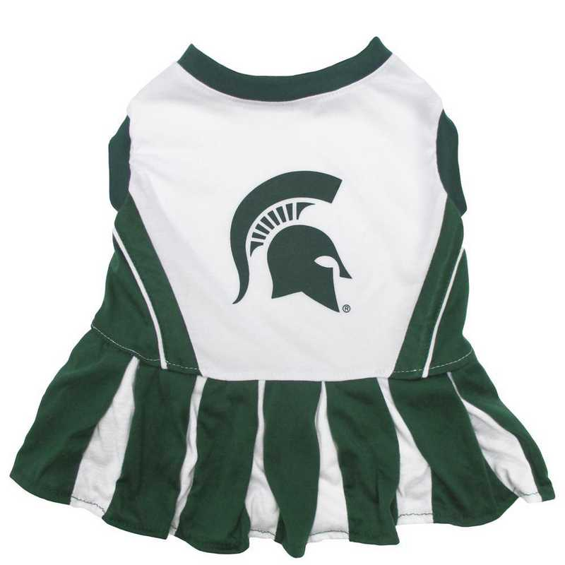 MICHIGAN STATE Pet Cheerleader Outfit