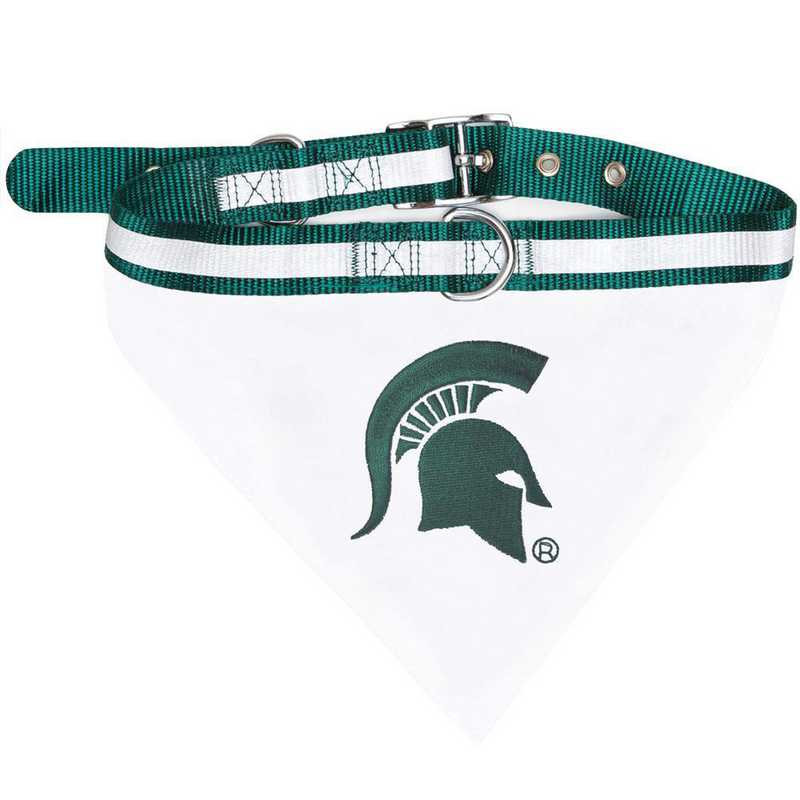 MICHIGAN STATE Bandana Dog Collar