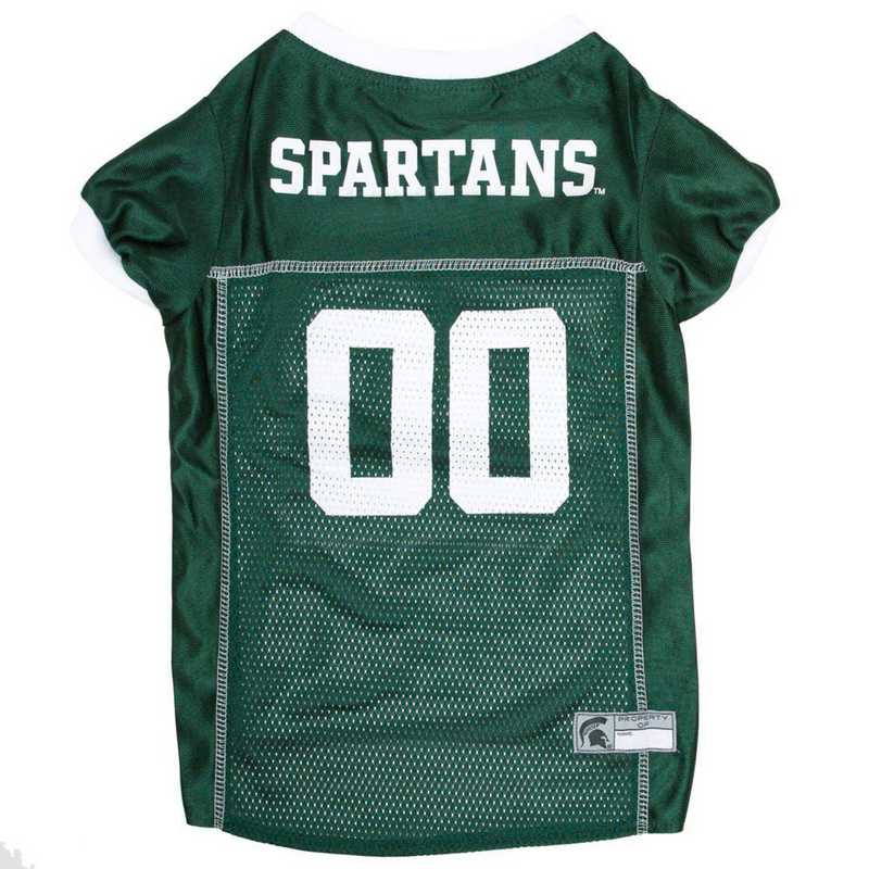 MS-4006-XL: MICHIGAN STATE Mesh Pet Jersey