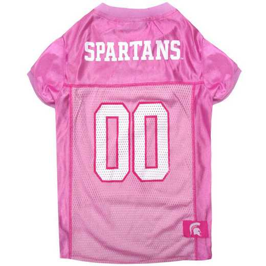 MICHIGAN STATE Pink Pet Jersey
