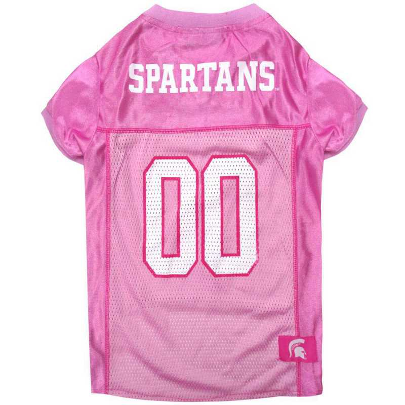 MICHIGAN STATE Pink Pet Jersey