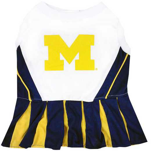 MICHIGAN Pet Cheerleader Outfit