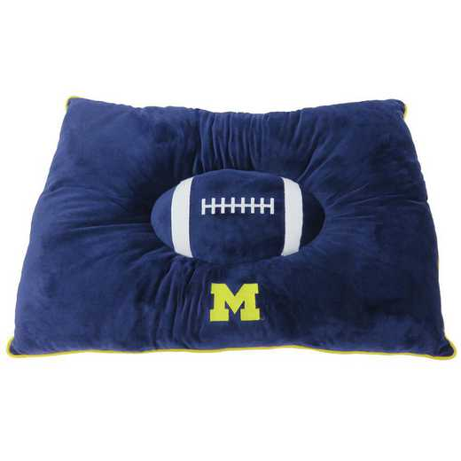 MI-3188: MICHIGAN WOLVERINES PILLOW BED