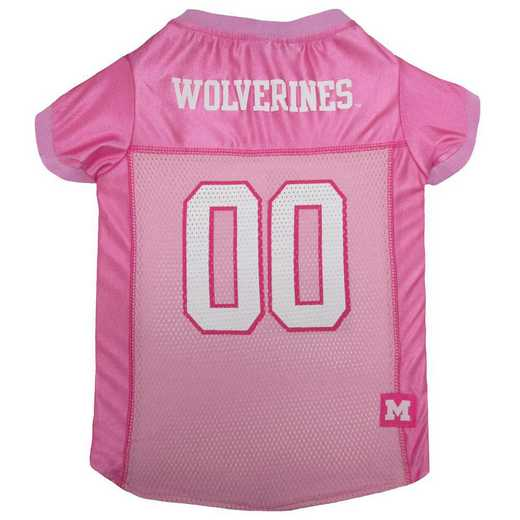 MICHIGAN Pink Pet Jersey