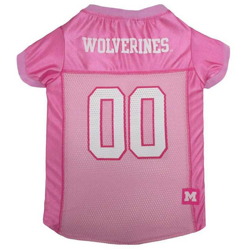 MICHIGAN Pink Pet Jersey