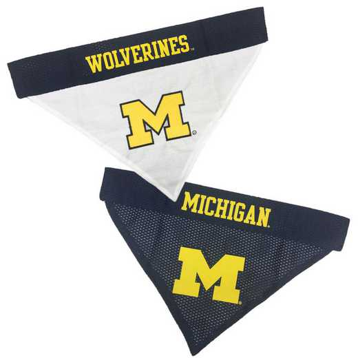 MICHIGAN Reversible Pet Bandana