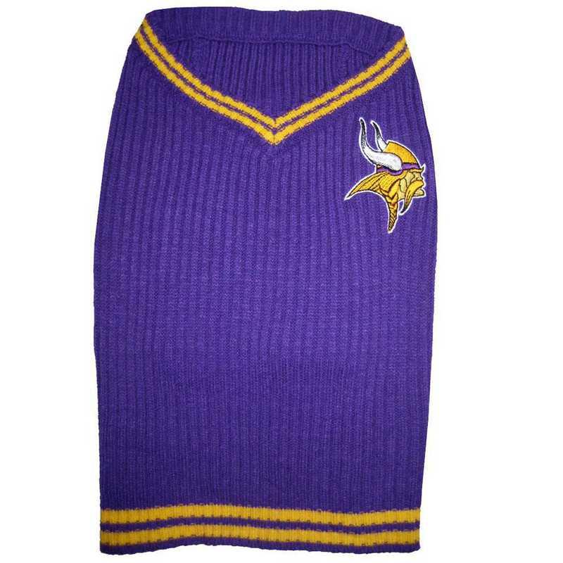 MINNESOTA VIKINGS Pet V-Neck Sweater