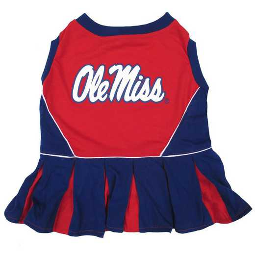 OLE MISS Pet Cheerleader Outfit