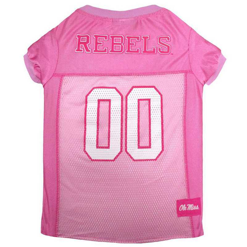 OLE MISS Pink Pet Jersey
