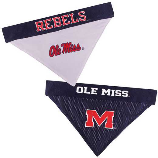 OLE MISS Reversible Pet Bandana