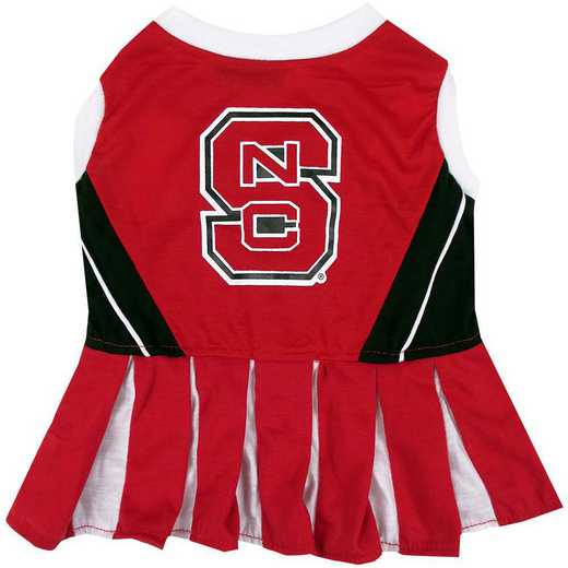 NC STATE Pet Cheerleader Outfit