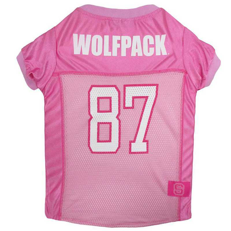 NC STATE Pink Pet Jersey
