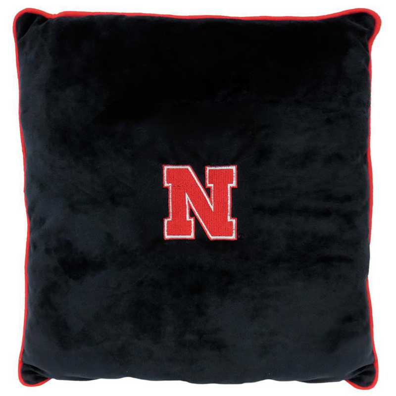 NE-3195: NEBRASKA HUSKERS PILLOW