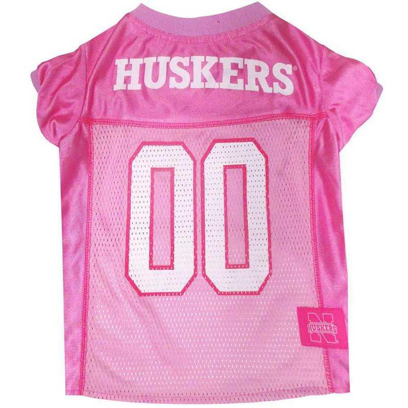 NEBRASKA Pink Pet Jersey