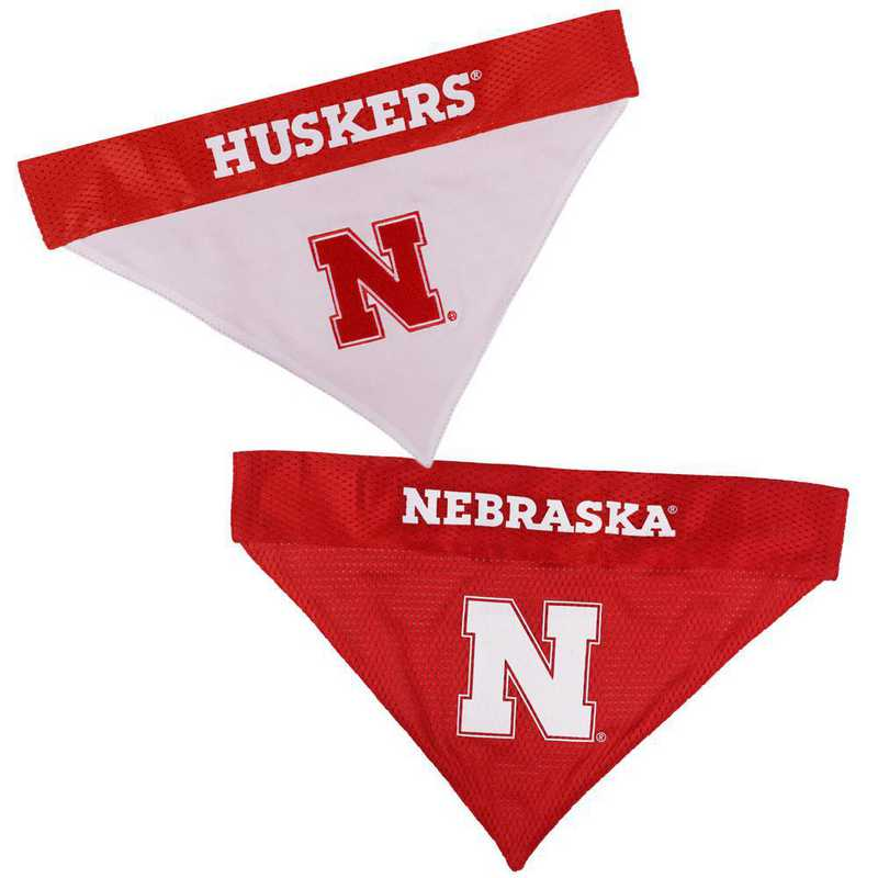 NEBRASKA Reversible Pet Bandana