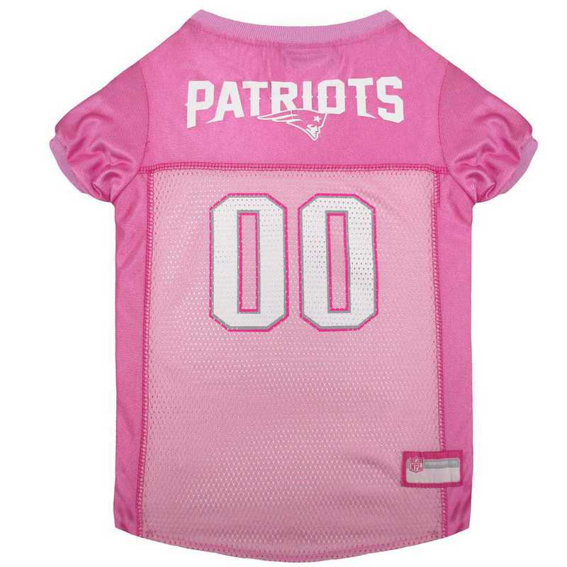 NEW ENGLAND PATRIOTS Pink Pet Jersey