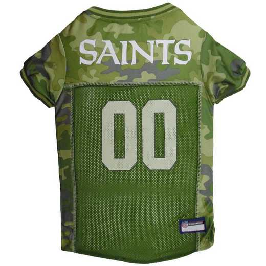 NEW ORLEANS SAINTS Pet Camo Jersey