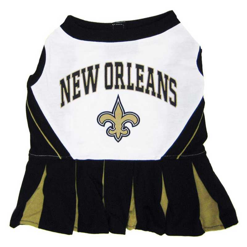 NOS-4007: NEW ORLEANS SAINTS Pet Cheerleader Outfit
