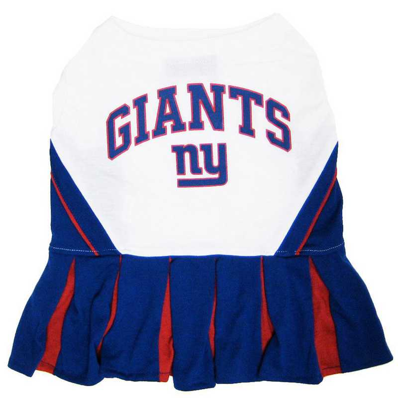 NYG-4007: NEW YORK GIANTS Pet Cheerleader Outfit