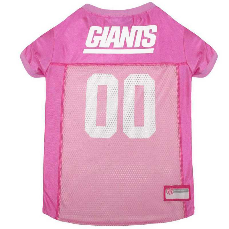 NEW YORK GIANTS Pink Pet Jersey