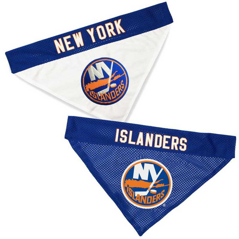 NEW YORK ISLANDERS  Reversible Pet Bandana