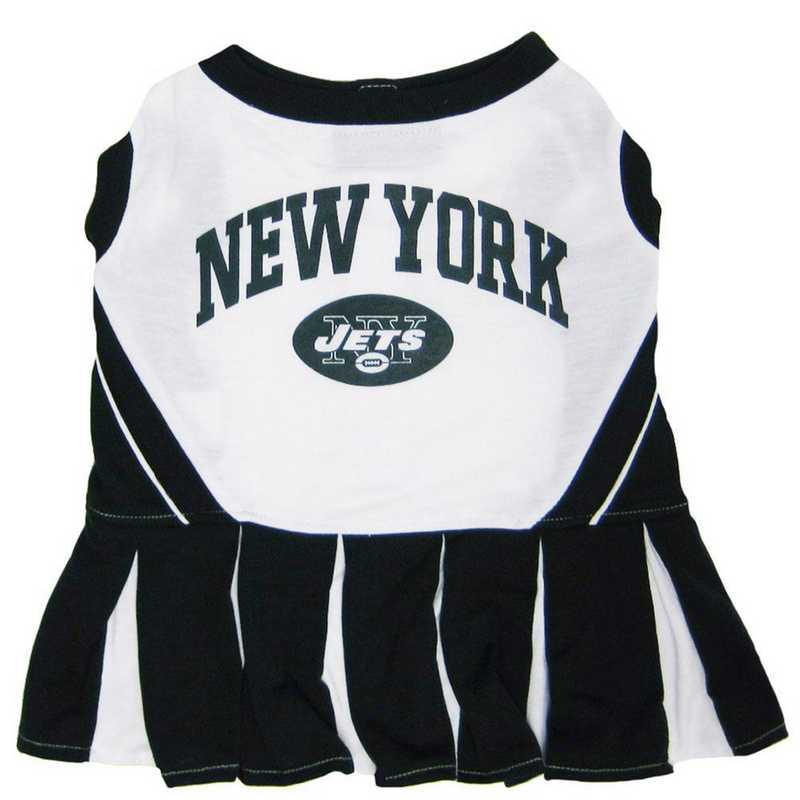 NYJ-4007: NEW YORK JETS Pet Cheerleader Outfit