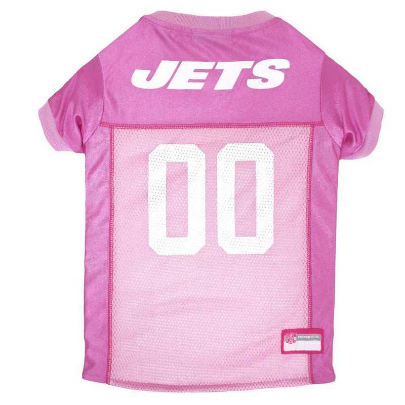 NEW YORK JETS Pink Pet Jersey