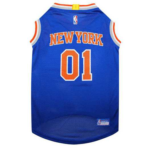 NEW YORK KNICKS Mesh Basketball Pet Jersey
