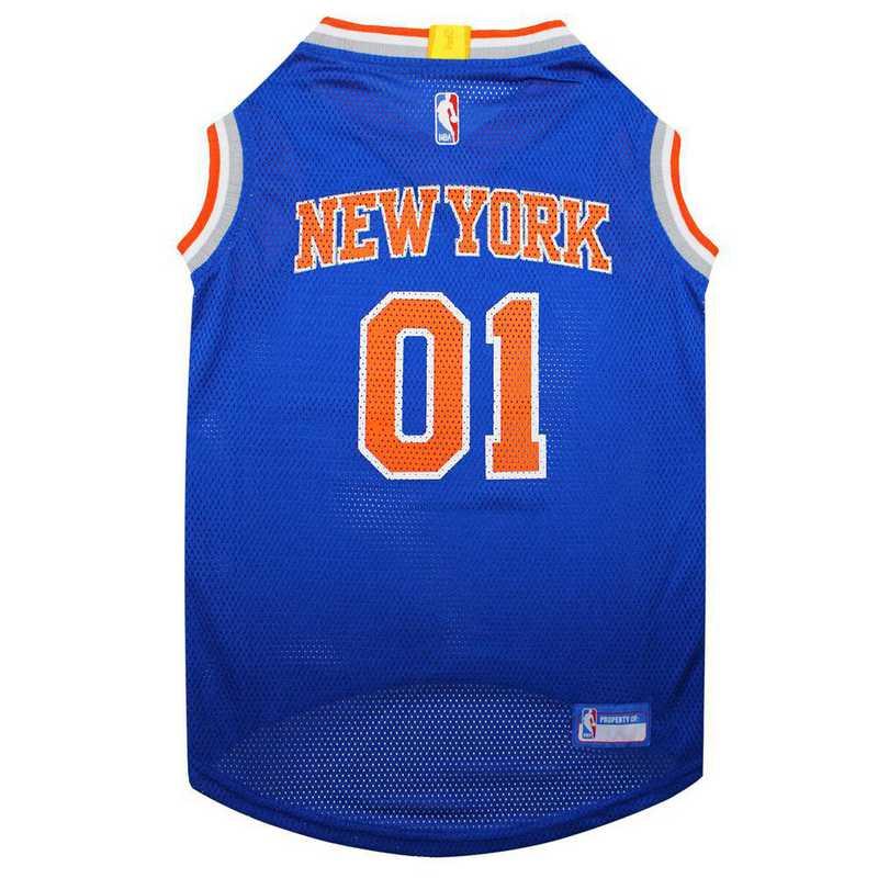 NEW YORK KNICKS Mesh Basketball Pet Jersey