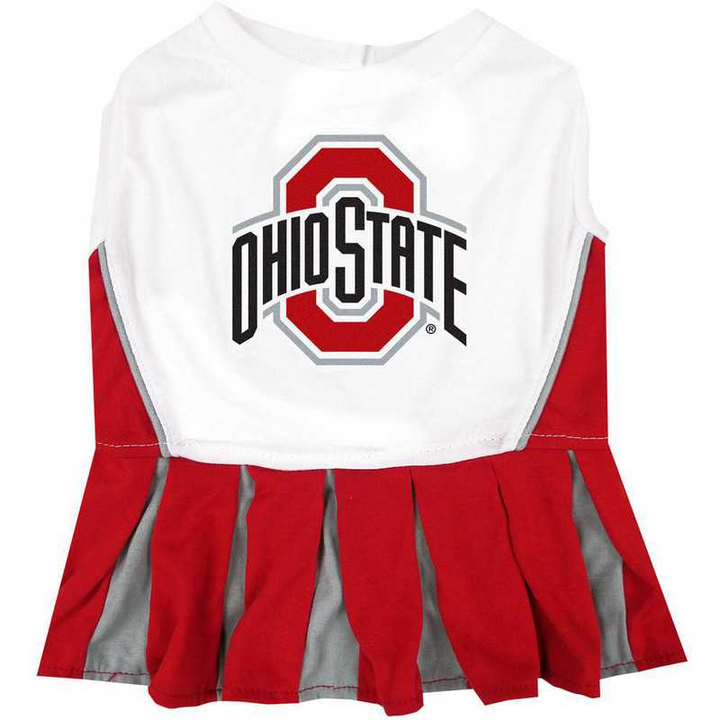 OHIO STATE Pet Cheerleader Outfit