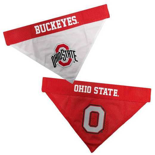 OHIO STATE Reversible Pet Bandana