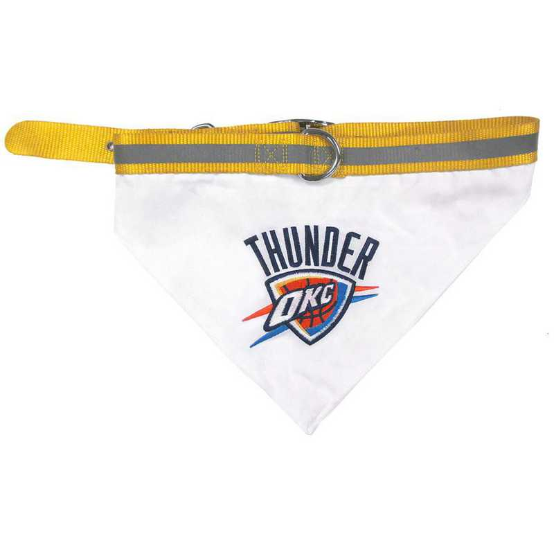 OKC THUNDER Bandana Dog Collar